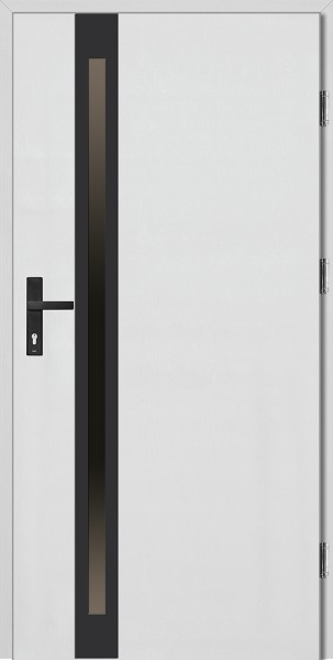 Drzwi wejściowe białe NERO Marcello Uno Plus
