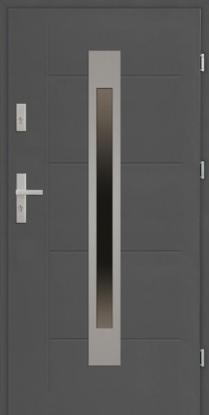 Drzwi zewnętrzne 90 cm antracyt Fabio Modern marki SETTO