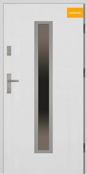 Drzwi wejściowe 90 cm NOWOŚĆ Diego Płaskie SETTO