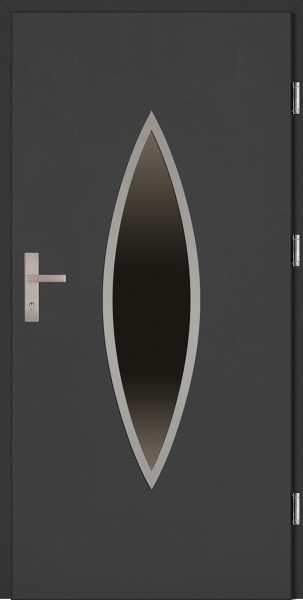 Drzwi wejściowe antracyt Ernesto Plus Grande Plus SETTO