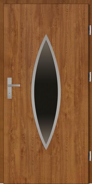 Drzwi wejściowe złoty dąb Ernesto Plus Grande Plus SETTO
