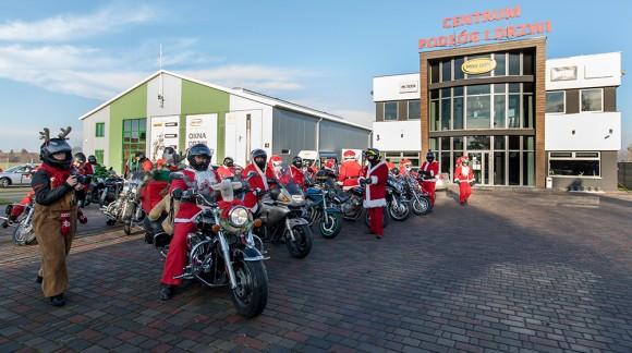 Mikołajowa Grupa Motocyklowa ponownie zawitała do Mar-Domu