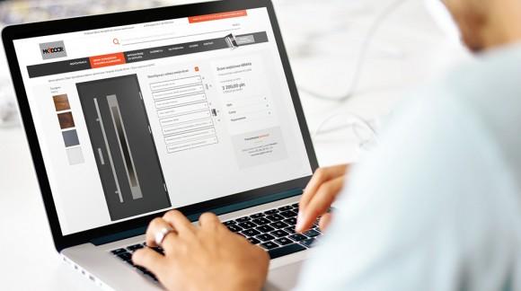 Nowa strona internetowa marki drzwi zewnętrznych MK-DOOR