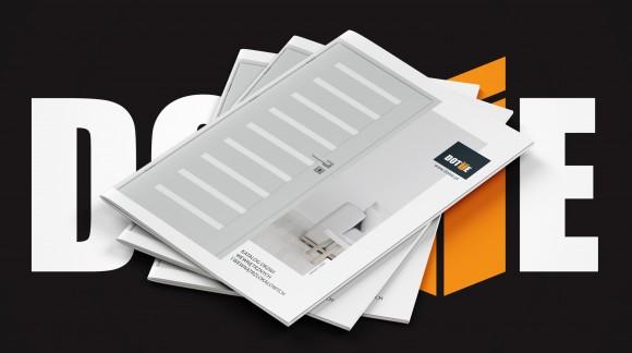 Katalog drzwi wewnętrznych i wewnątrzlokalowych DOTIIE 2020