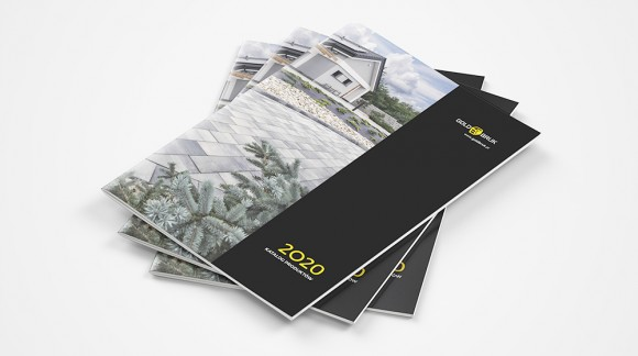 Katalog kostki brukowej i systemu ogrodzeń GOLD BRUK 2020