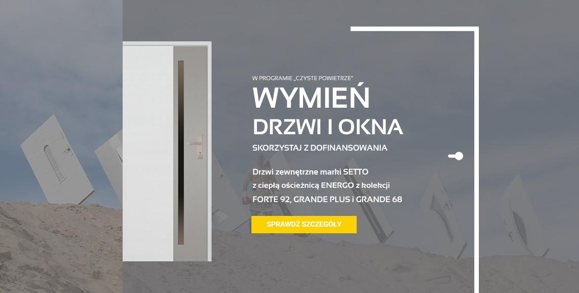 Wymień drzwi z rządowym dofinansowaniem